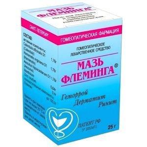 Мазь Флеминга - уникальное средство для лечения геморроя